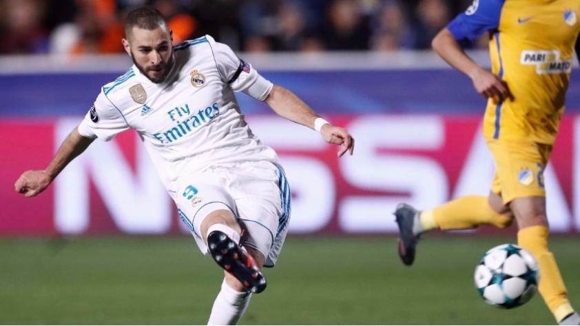 Karim Benzema le respondió a los críticos que lo acusan de 'no tener gol'