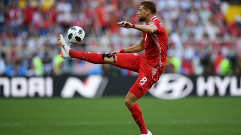 La selección de Túnez inscribió a un delantero como portero para su último partido en Rusia 2018