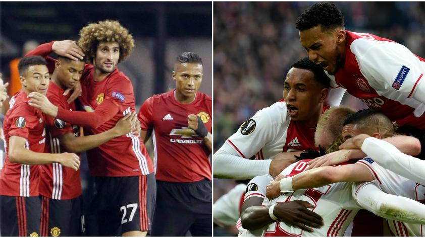 ¡Manchester United y Ajax disputarán la final de la Europa League!