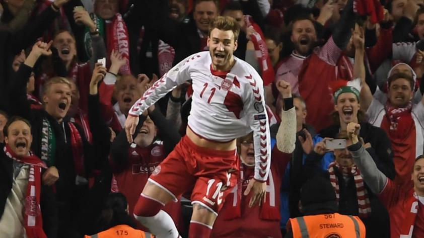 Dinamarca golea por 5-1 y está rumbo a Rusia 2018