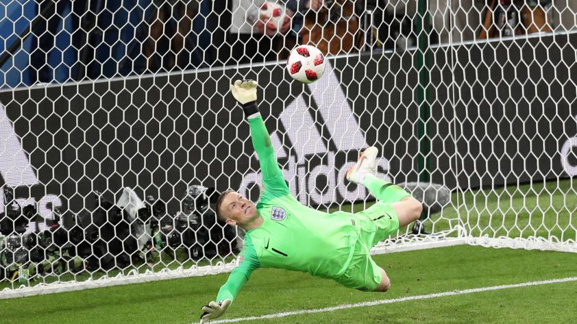 Como 'Papelito' Lehmann: Pickford y la botella de los penales que dejó fuera a Colombia de Rusia 2018
