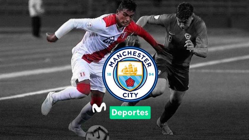 Jugó en la Selección Peruana Sub 17 y podría llegar al Manchester City