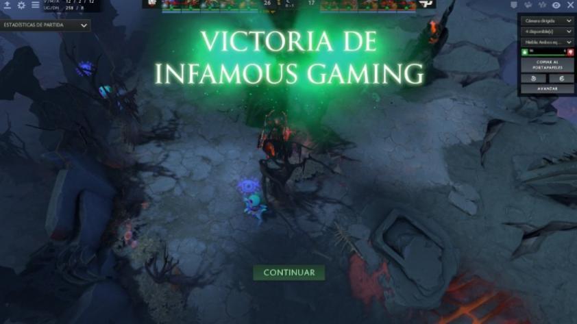 Un orgullo más:  Infamous Gaming clasificó al Mundial de Dota 2 (VIDEO)