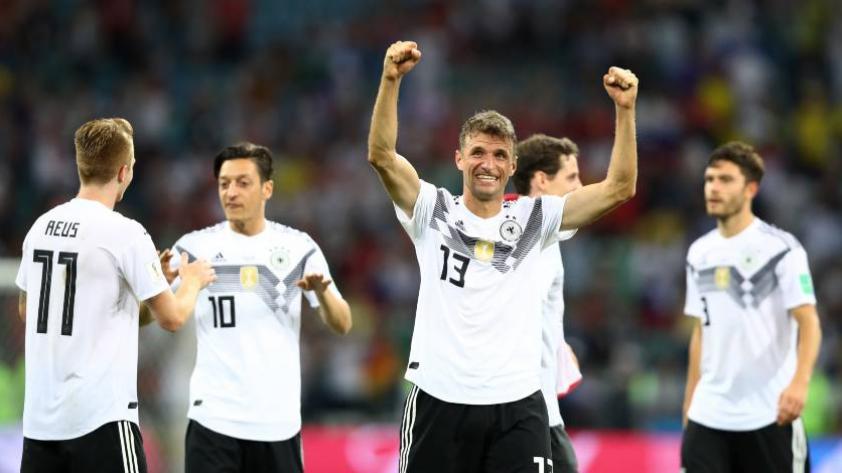 Alemania gana y voltea el partido a Suecia por 2-1 en la copa del mundo
