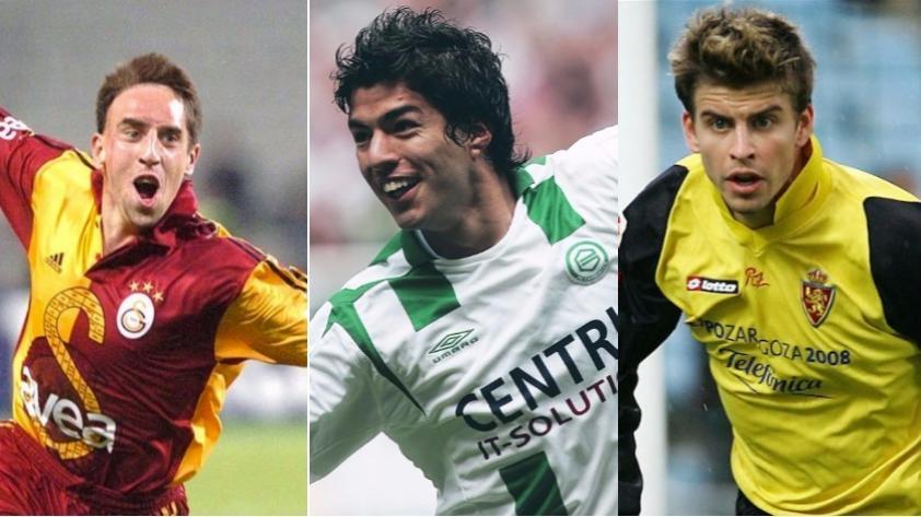 Fútbol Internacional: 7 futbolistas que pasaron por clubes que probablemente no recuerdes