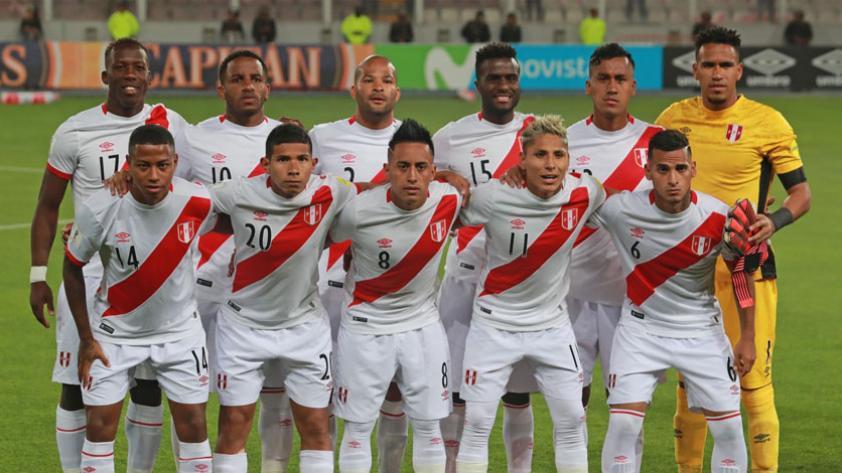 A las 10:30 se realizará la presentación de la camiseta de la Selección Peruana