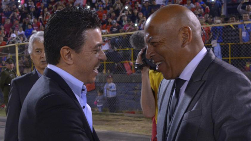 El gesto de respeto de Marcelo Gallardo hacia Roberto Mosquera