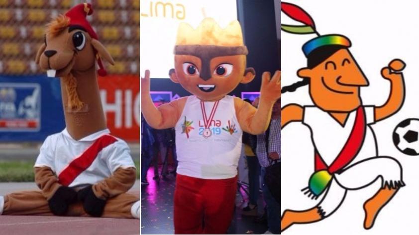 Lima 2019: Milco y otras mascotas representativas en eventos deportivos internacionales