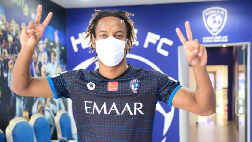 Buenas noticias: André Carrillo superó el COVID-19 y retorna a los entrenamientos del Al Hilal