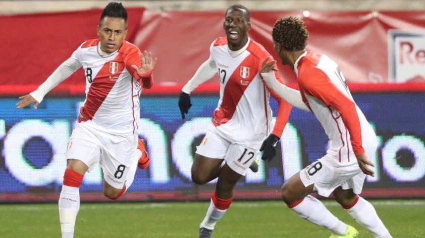 Perú venció 1-0 a Paraguay con golazo de Christian Cueva en amistoso internacional jugado en New Jersey