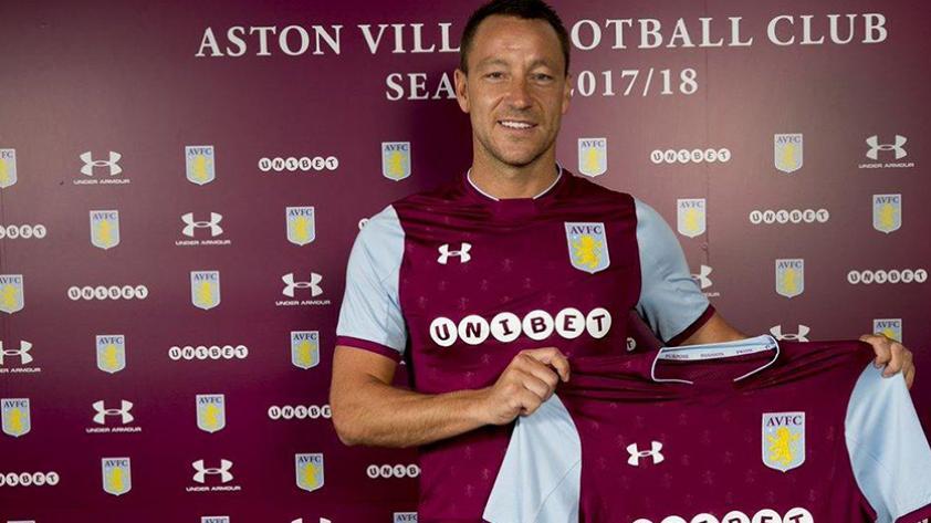 John Terry es nuevo jugador del Aston Villa