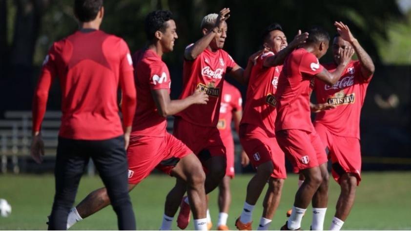 (VIDEO) Selección Peruana realizó último entrenamiento en Miami con buen ambiente y risas