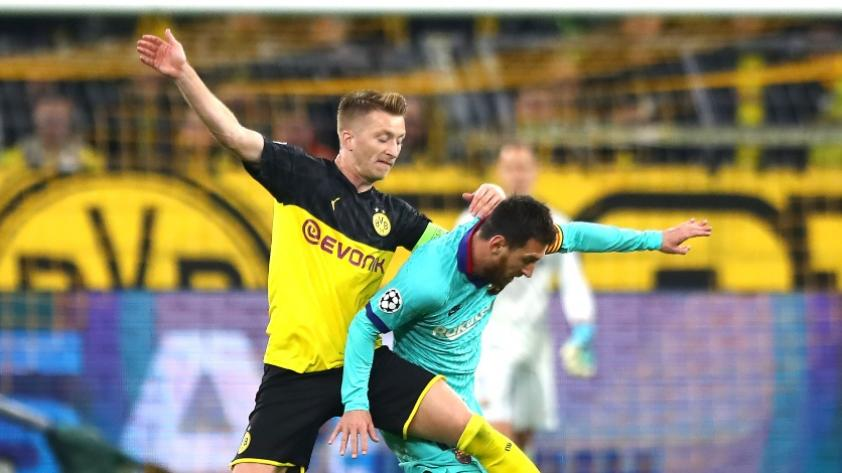 Tibio debut: Borussia Dortmund y Barcelona no se hicieron nada y empataron 0-0 por la Champions League