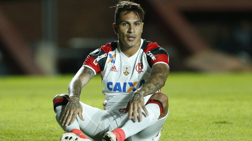Selección Peruana: Paolo Guerrero no jugará los próximos 2 partidos con Flamengo