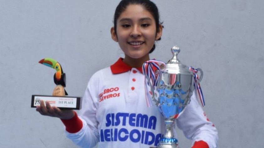 ¡Felicidades, campeona!