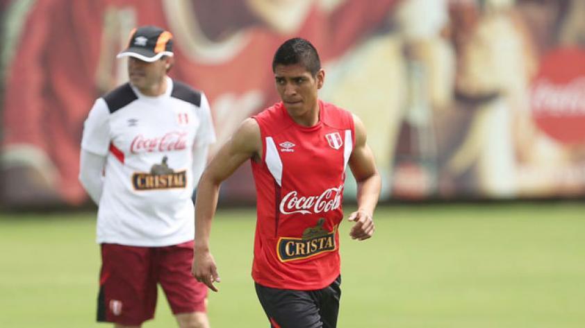 Paolo Hurtado trabajó hoy con Perú