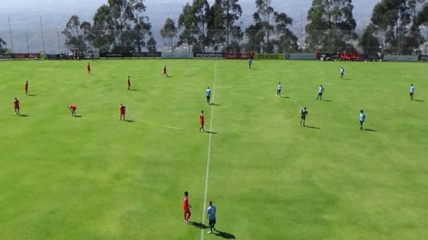 La selección Sub-18 derrotó a América de Cali en la Copa Mitad del Mundo
