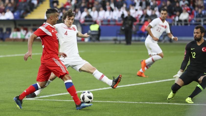 Rusia empató 1-1 con Turquía y quedó listo para enfrentar el Mundial como local
