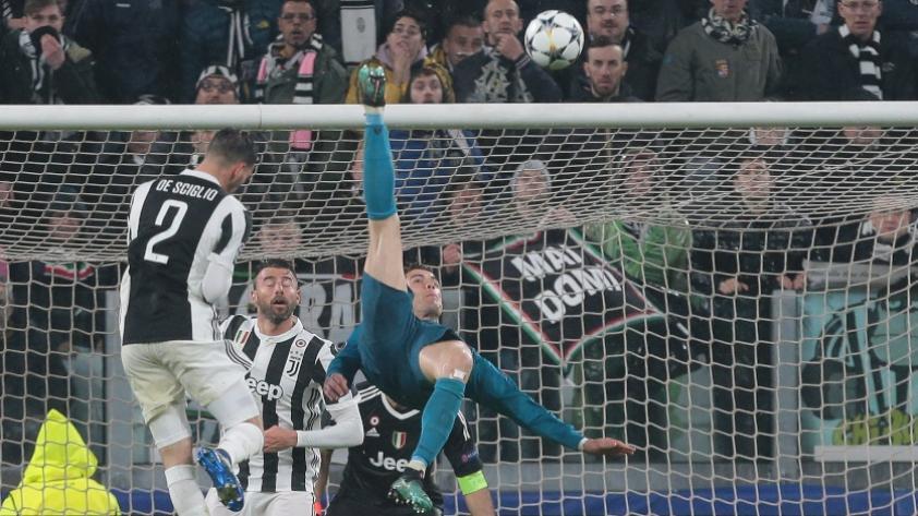 Gianluilgi Buffon contó lo que pasó tras el gol de chalaca que le marcó Cristiano Ronaldo (VIDEOS)