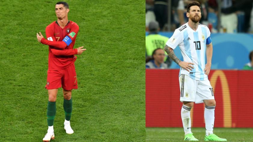 La deuda pendiente de Messi y Ronaldo en los Mundiales