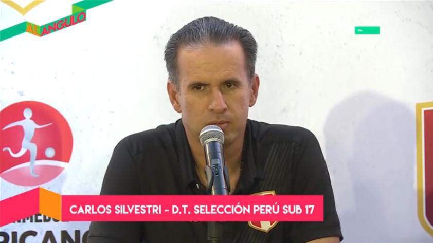 Selección Peruana Sub 17: Carlos Silvestri confía en clasificar al Hexagonal Final