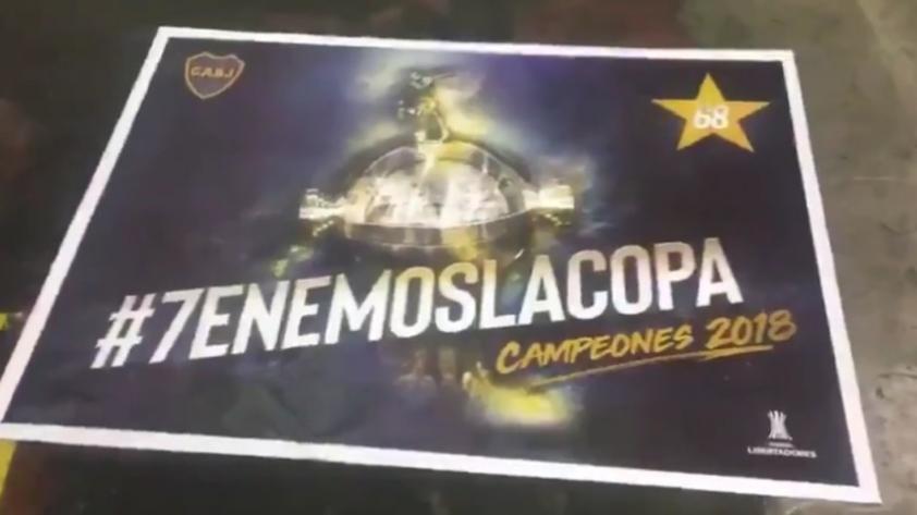 ¡Para morirse!: Boca Juniors se creía campeón y diseñó afiche festivo