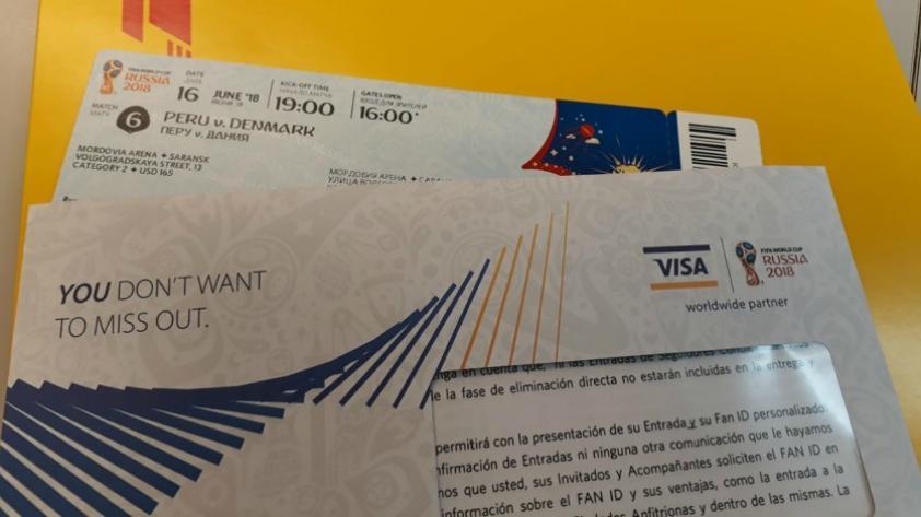 Selección Peruana:  llegan las entradas para Perú en el mundial