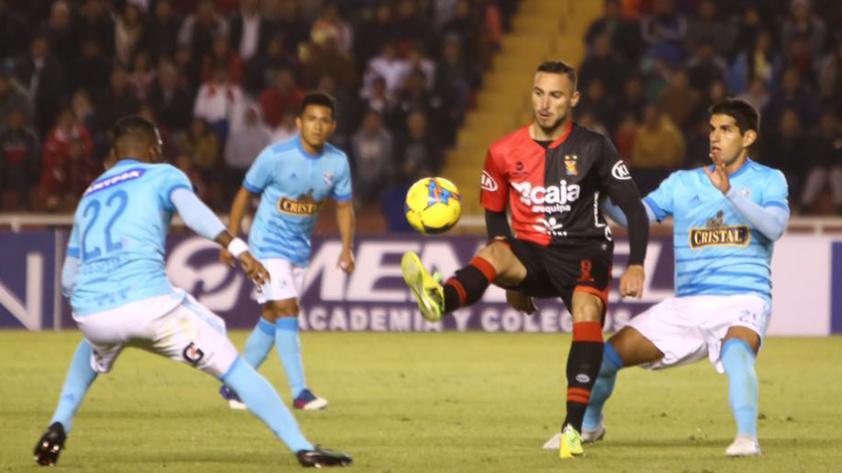 Melgar venció 4-1 a Sporting Cristal en Arequipa