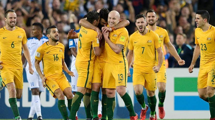 Repechaje: Australia derrotó 3-1 a Honduras y selló su pasaje a Rusia 2018