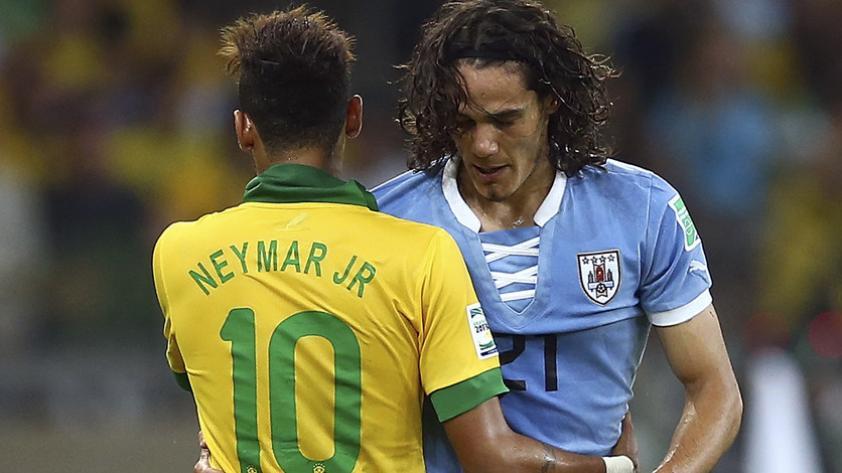 Edinson Cavani habló sobre la polémica con Neymar