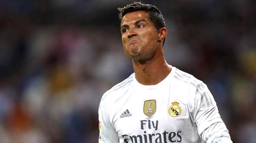 Cristiano Ronaldo y su molestia por la sanción de 5 fechas