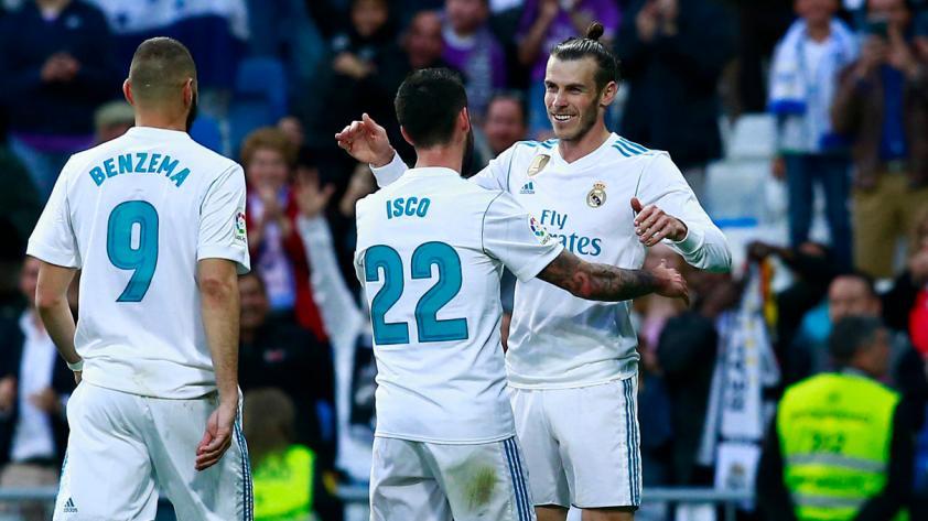 Liga Santander: Real Madrid goleó 6-0 al Celta con doblete de Bale