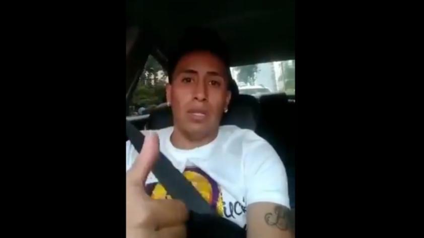 El saludo de Christian Cueva a los hinchas del Santos FC que confirma su llegada al equipo brasileño (VIDEO)