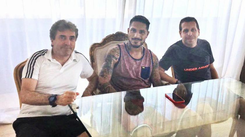 Selección Peruana: Paolo Guerrero se reunió con miembros del comando técnico de Ricardo Gareca