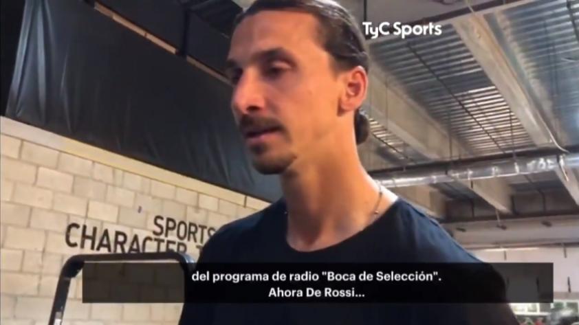 No puede ser más Zlatan: la respuesta de Ibrahimović al ser consultado sobre Boca Juniors (VIDEO)
