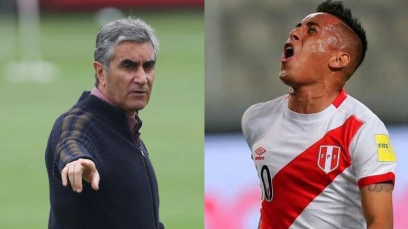 Juan Carlos Oblitas y su dura crítica a Christian Cueva por su actual nivel futbolístico