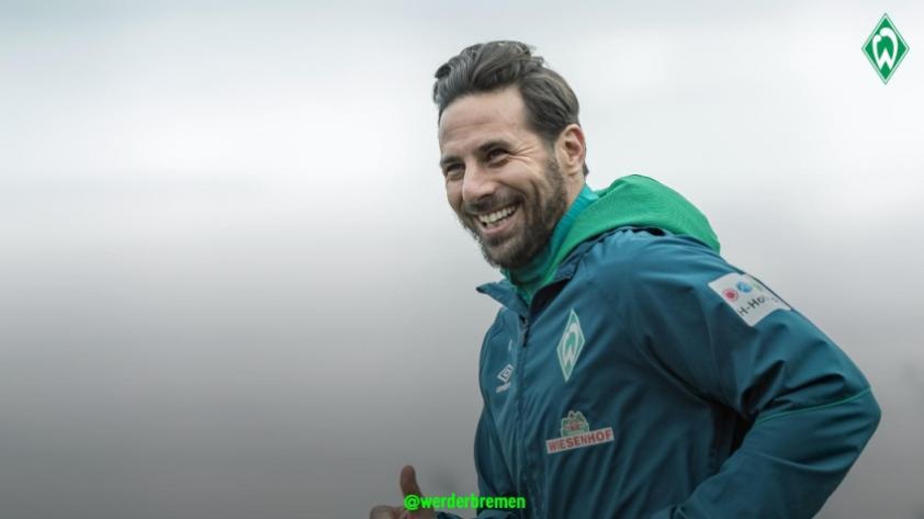 Claudio Pizarro es la carta gol: el Werder Bremem se enfratará dos veces seguidas al Bayern Munich