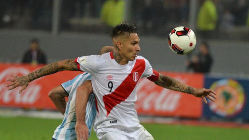 """Guerrero: """"No estoy pensando en el gol, estoy pensando en el triunfo"""""""