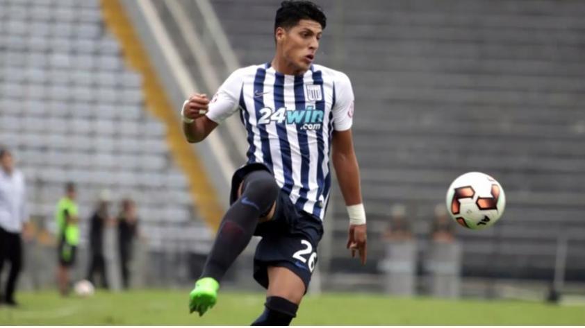 Hansell Riojas es nuevo jugador de Alianza Lima