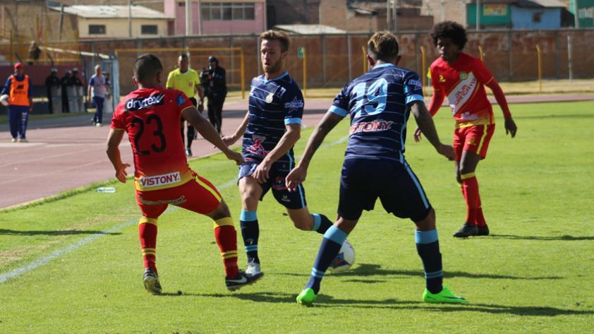 En vibrante partido, Sport Huancayo y Real Garcilaso igualaron a 1