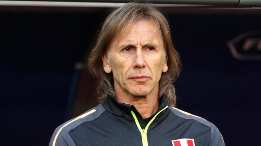 """""""Creo que el equipo hizo mérito para ganar el partido"""", esto dijo Ricardo Gareca al terminar el cotejo."""