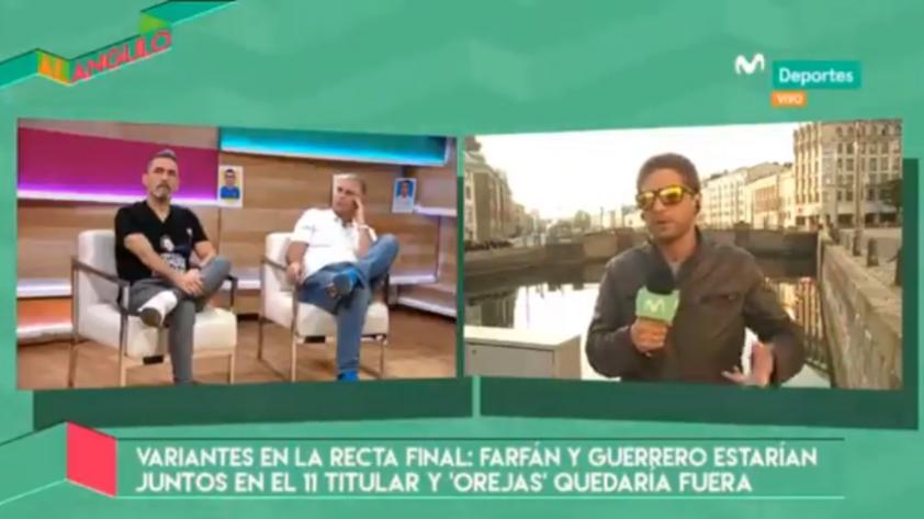 """Al Ángulo: """"La posición inicial de Farfán va ser detrás de Guerrero"""""""