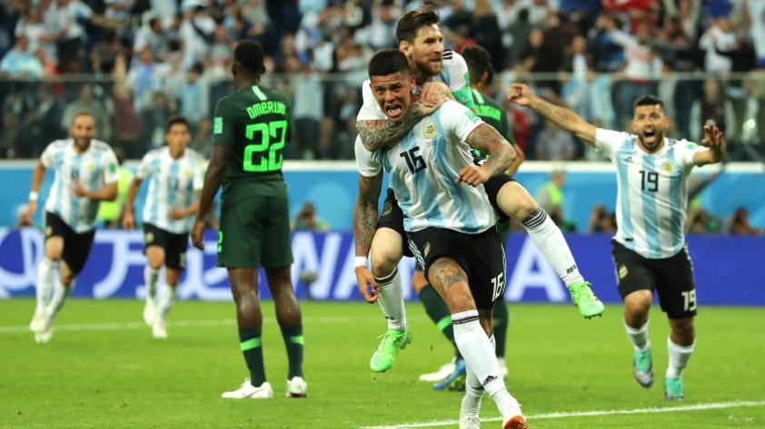 Argentina le ganó 2-1 a Nigeria por la tercera fecha del grupo D de Rusia 2018