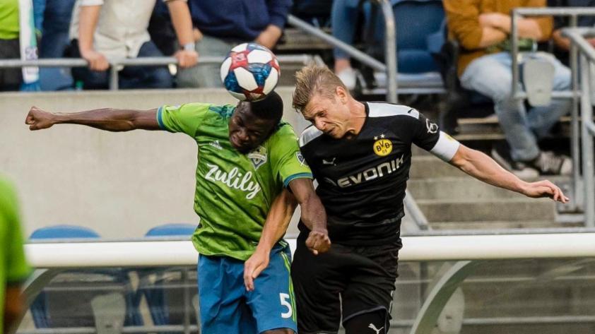 El Seattle Sounders FC de Raúl Ruidíaz no pudo contra Borussia Dortmund y cayó 1-3 en partido amistoso (VIDEOS)