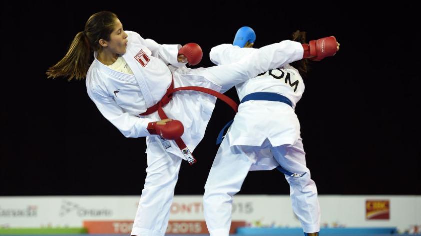 Lima 2019:  Alexandra Grande se consagró con la medalla de oro en Karate