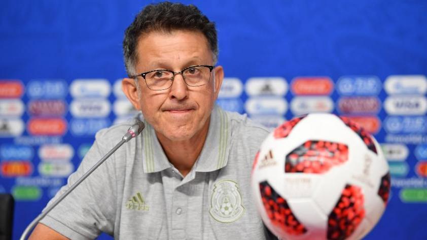 Técnico de México planea ataque ofensivo contra Brasil