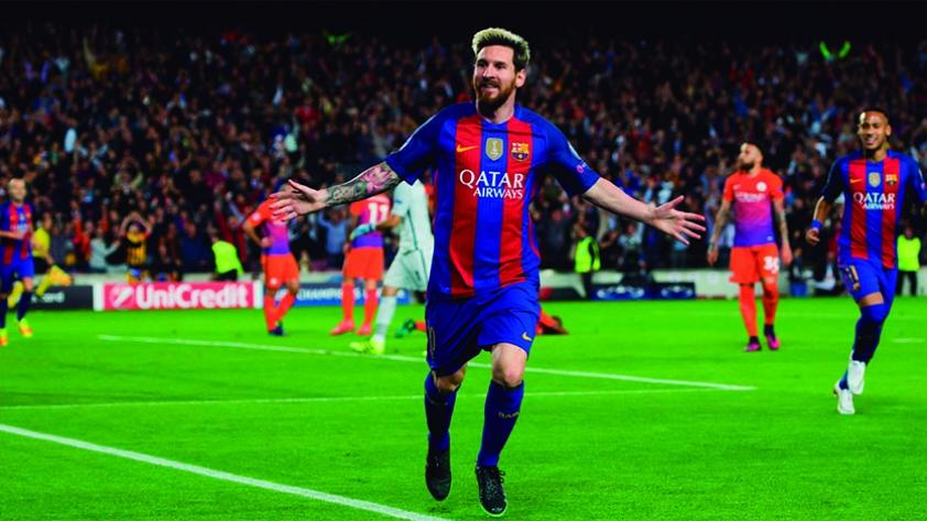Lionel Messi, fuera del once de la Champions League