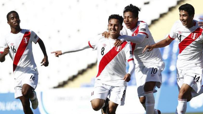 Perú vs. Bolivia: la bicolor se impuso 4-1 en el Sudamericano Sub 15