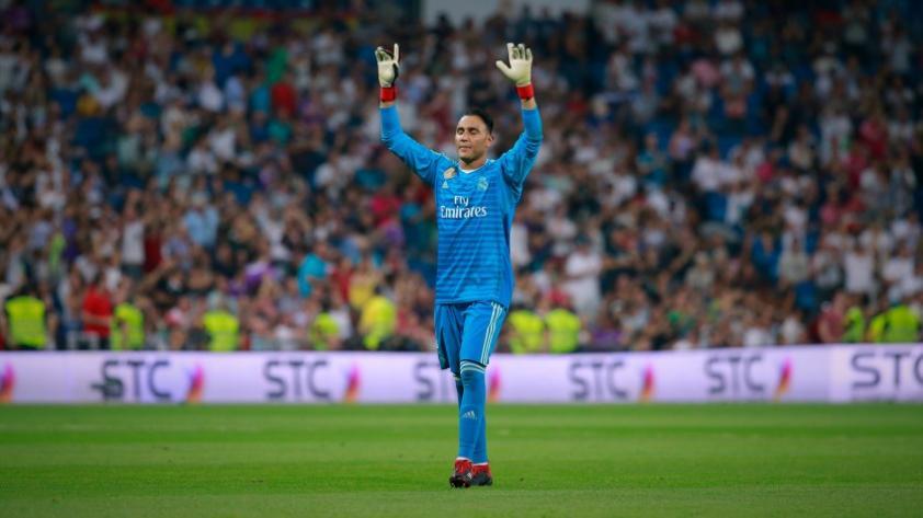 Keylor Navas renovó con el Real Madrid hasta el 2021