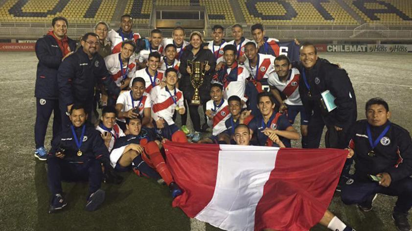 La Sub-18 de Municipal ganó la Copa Canario 2017 en Chile